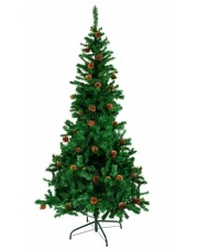 choinka sztuczna na wzór drzewka jodły