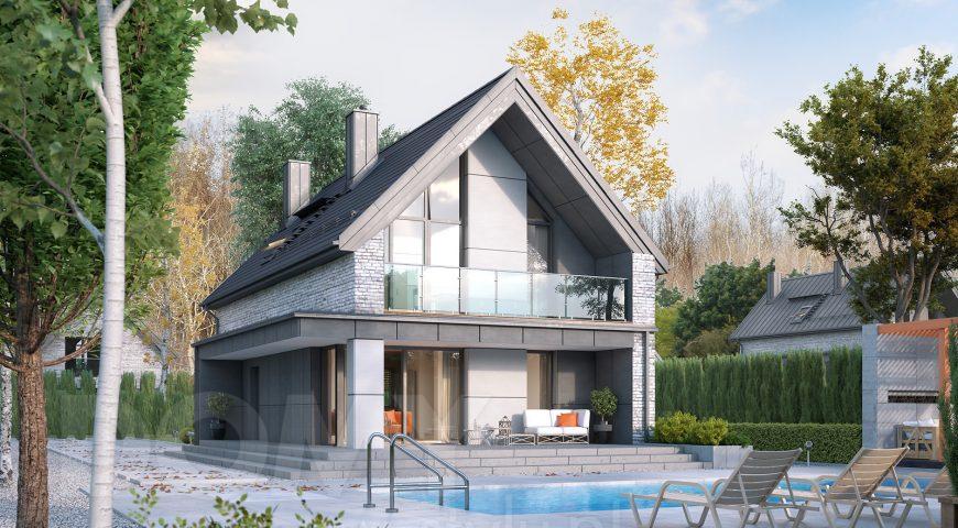 Uniwersalność dla Ciebie - projekty domów z poddaszem